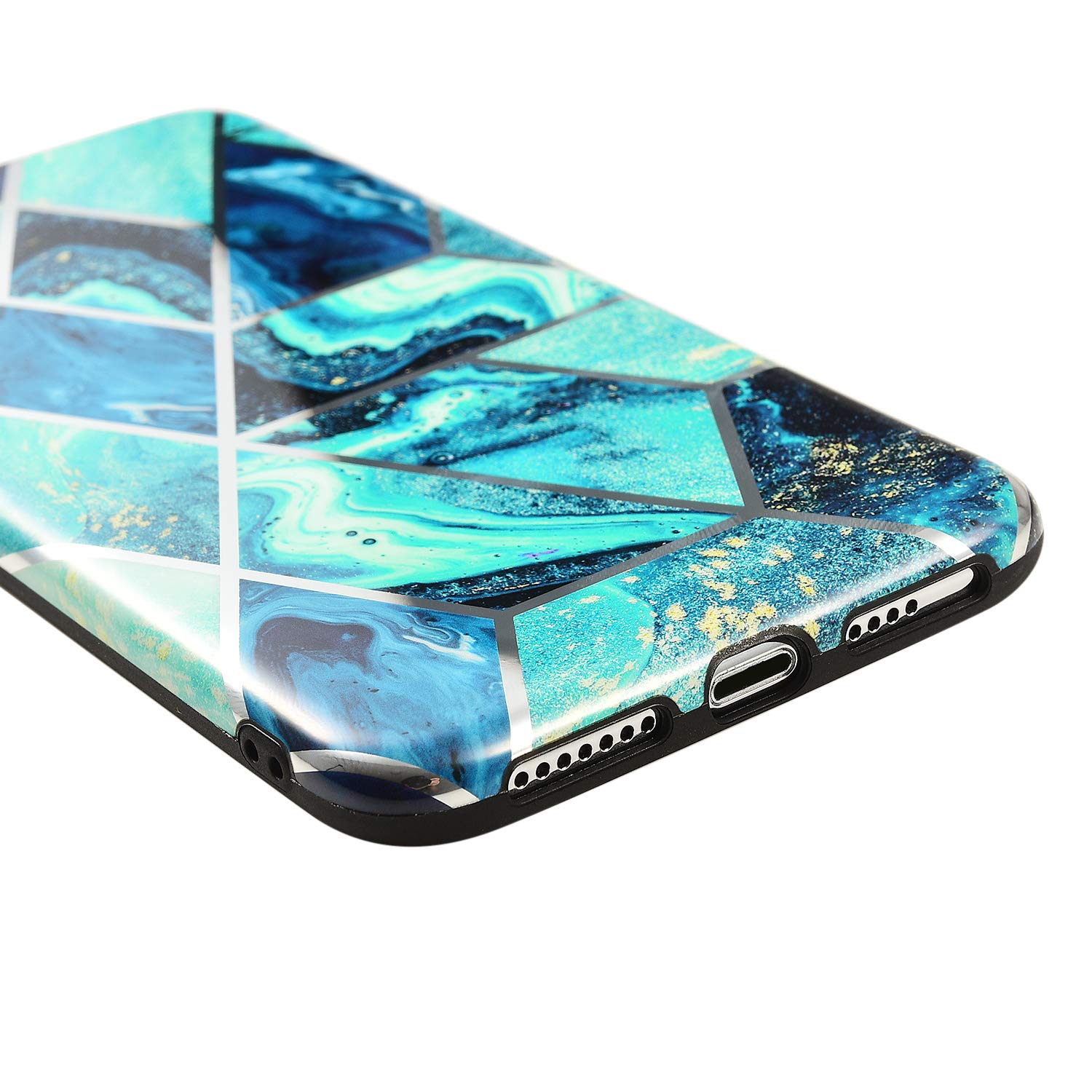 iPhone XS Case Shockproof Tough Marble Soft Cover for Apple