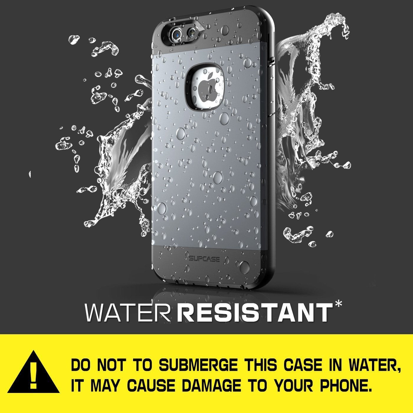 Genuine SUPCASE Water Resist Tough Heavy Duty Case For Apple iPhone 6 Plus & 6s Plus