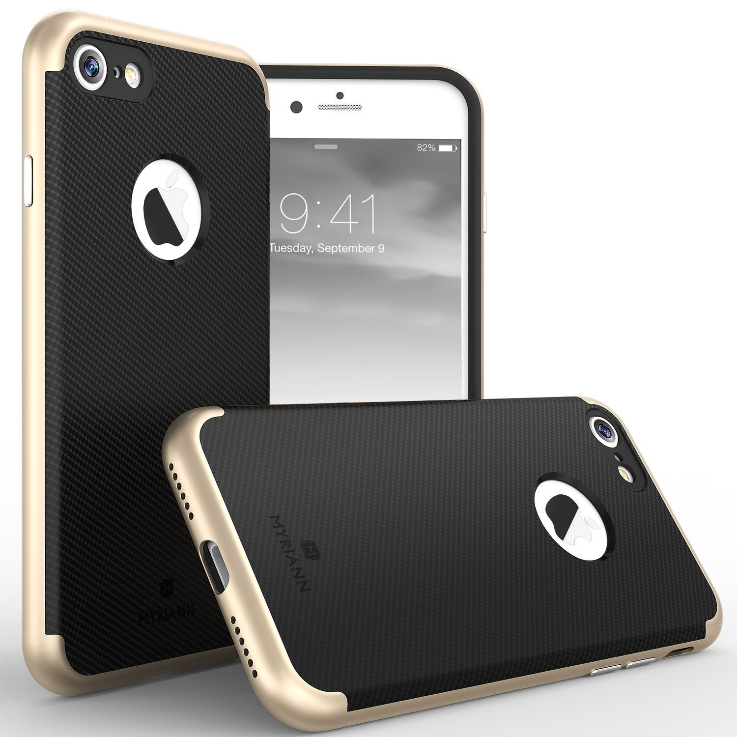 Genuine TAGGSHIELD Slim Shield For iPhone 8 iPhone 8 Plus (Gold)