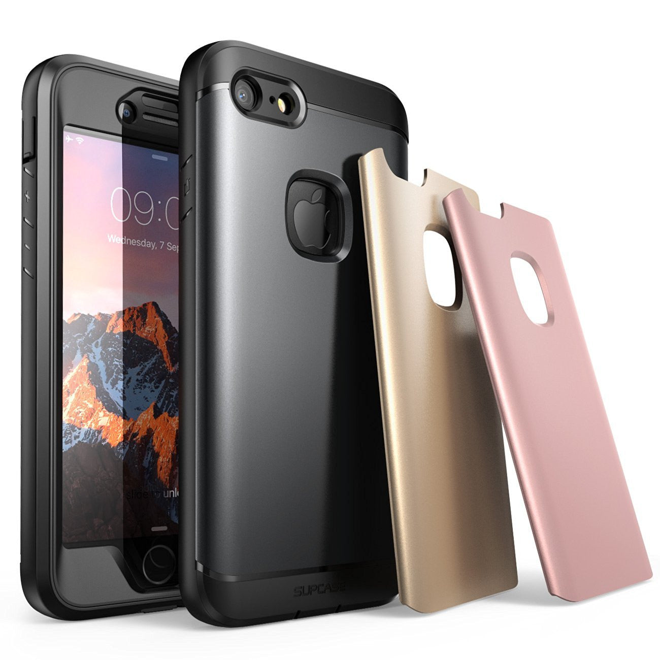 SUPCASE Water Resistant Full-body Rugged Case with Built-in Screen Protector For iPhone 8/8 Plus