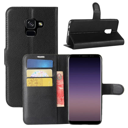 Galaxy A8 2018 Wallet Flip Protective Case Cover