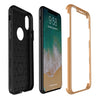iPhone 8 Thin Shockproof Full Body Soft Case Cover Wth Tempered Glass
