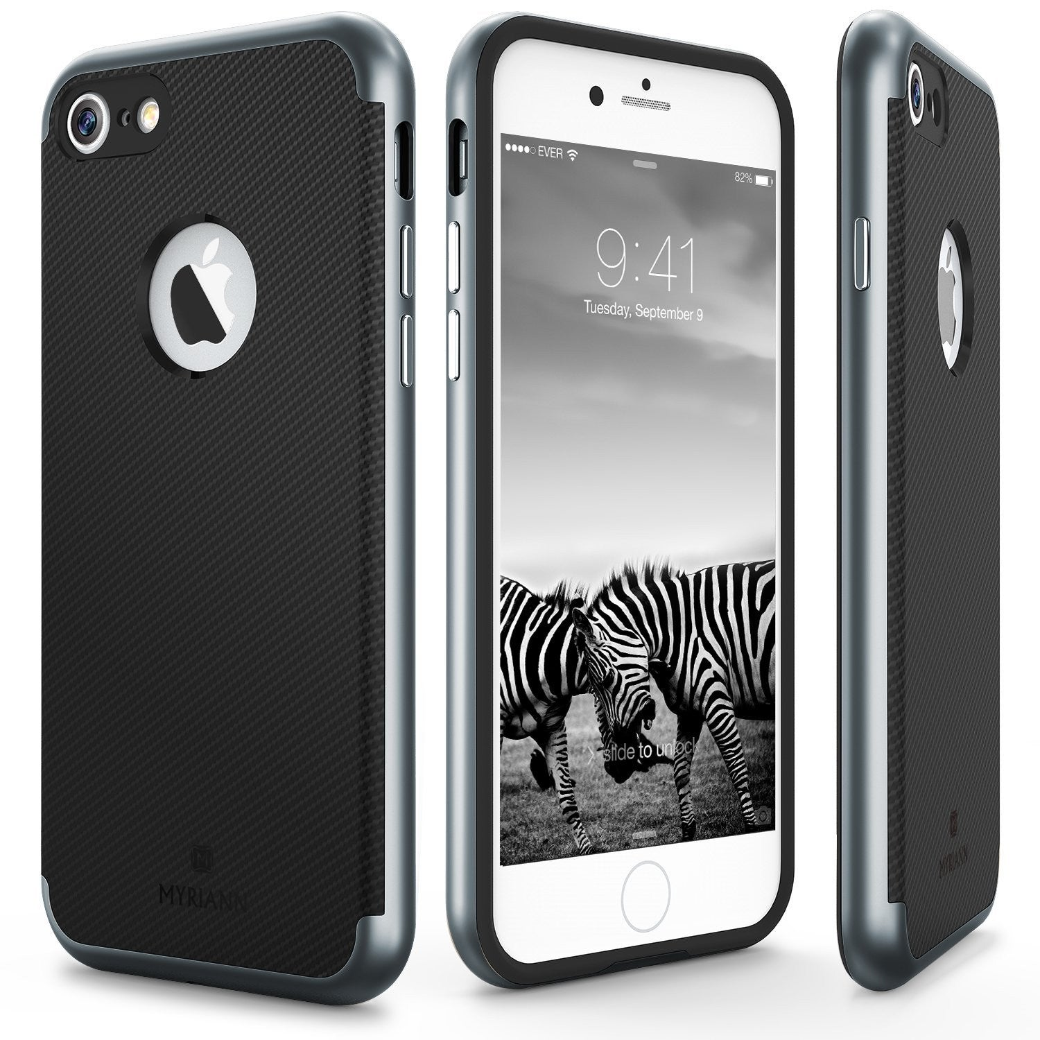 Genuine TAGGSHIELD Slim Shield For iPhone 7 iPhone 7 Plus (Gunmetal)