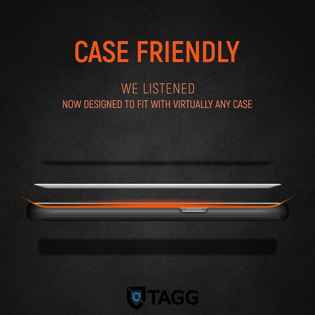 GENUINE TAGG 【Case Friendly】TEMPERED GLASS SCREEN PROTECTOR FOR Galaxy S8