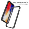 iPhone X Case, Heavy Duty Shockproof Slim Clear Protection Cover