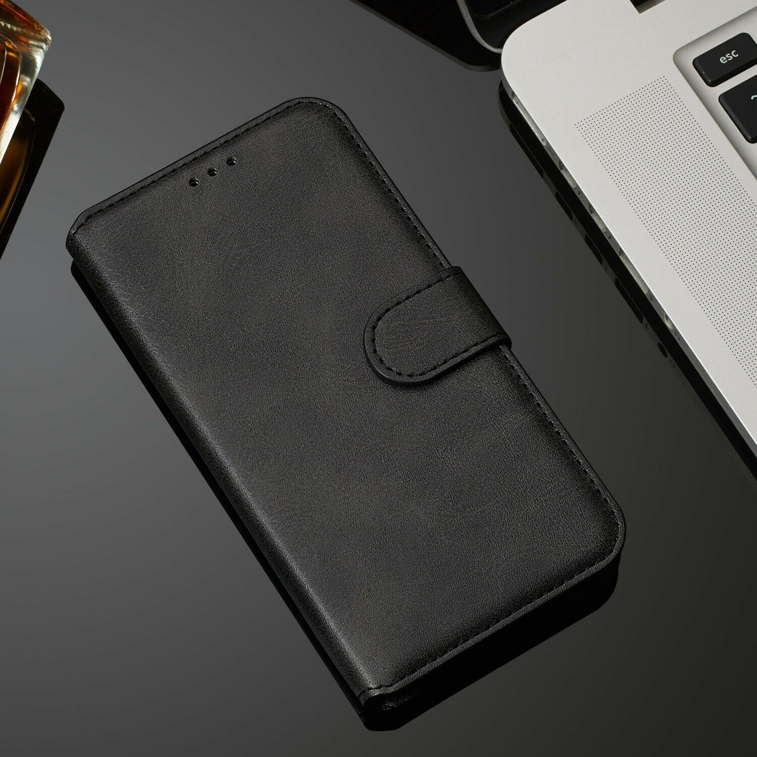 For LG V50 Luxury Wallet Leather Case Card Slots Cover