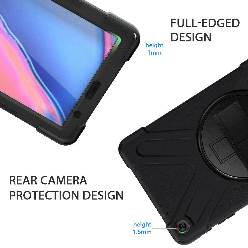 Shockproof Case For Samsung Galaxy Tab A 8.0 2019 P200 P205 Stand Tablet Cover