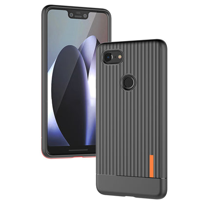 Google Pixel 3 Slim-Fit Ultra Thin Soft Silicone Case Cover