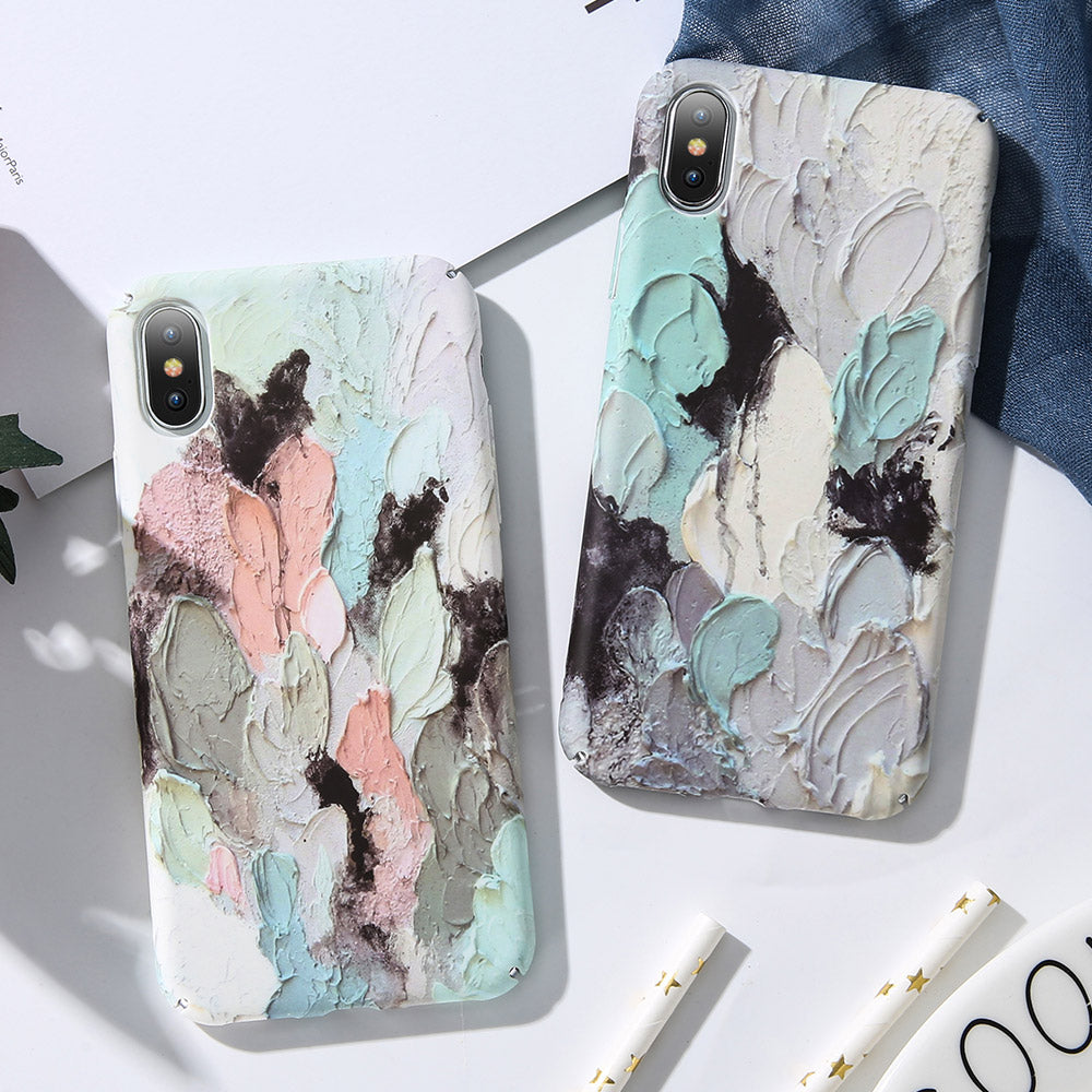 iPhone XS MAX Case Pattern Shockproof Thin Soft Silicone Tough Cover
