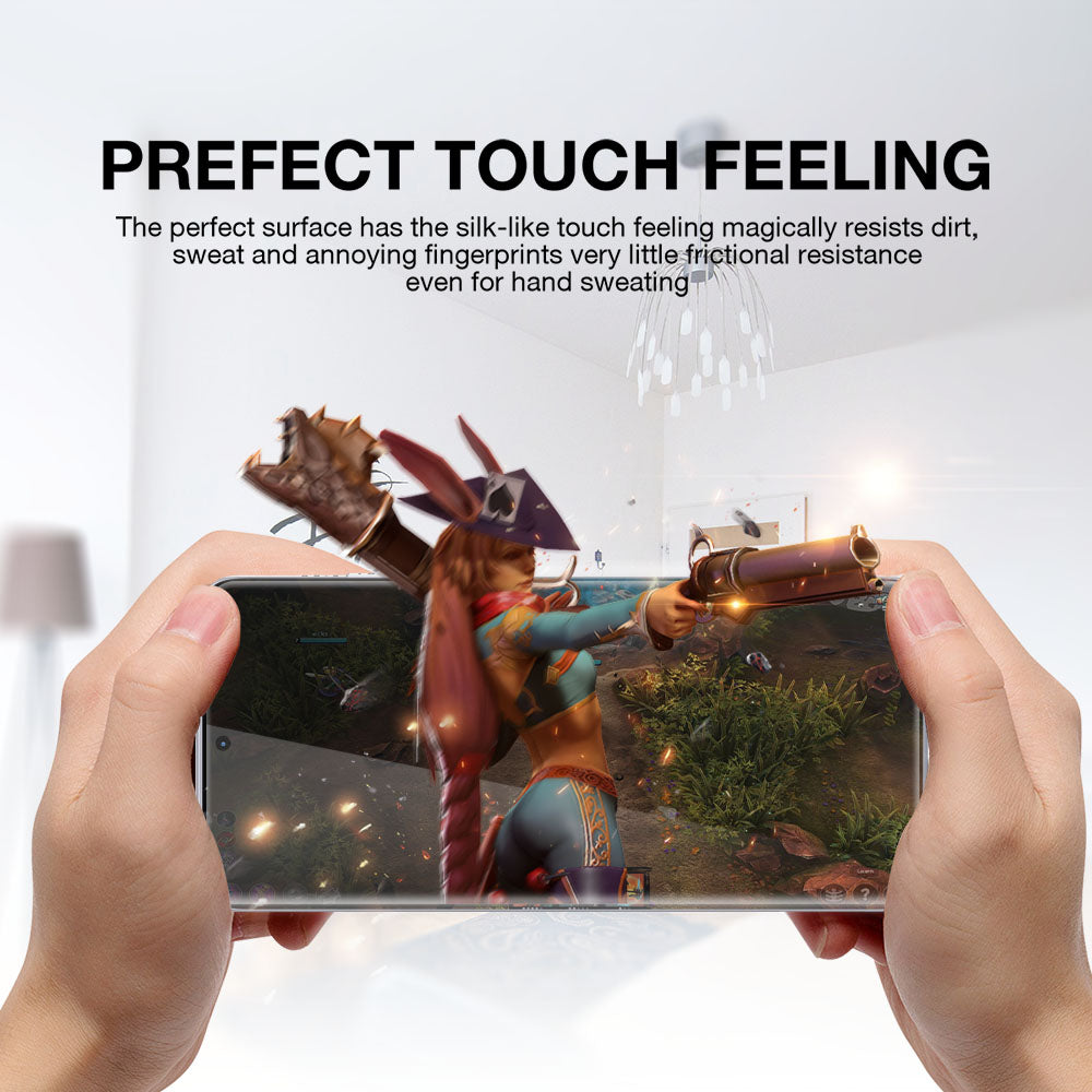 For Galaxy S21 Plus HYDROGEL Crystal Case Friendly Film Screen Protector