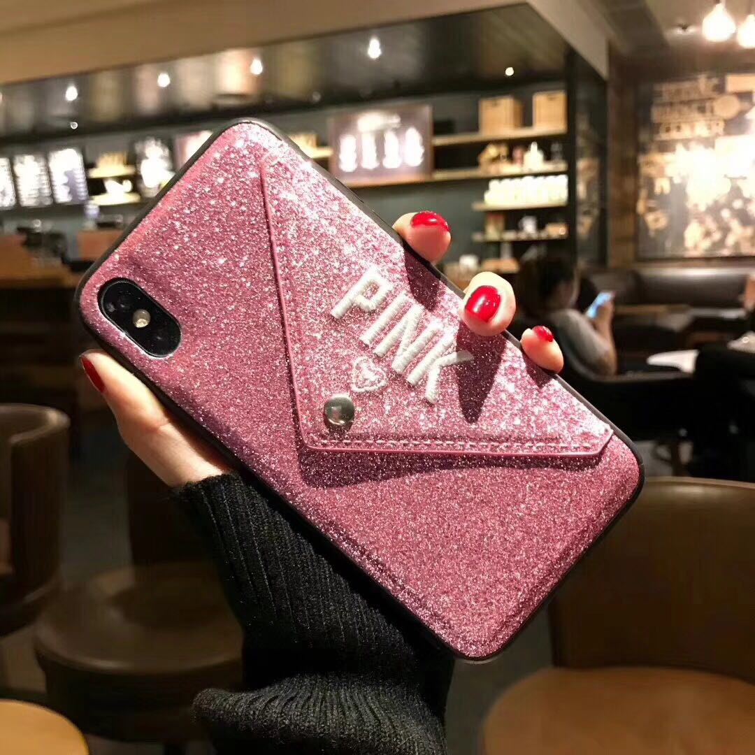 iPhone 11 Pro Bling Shockproof Wallet Stand Card Soft Case Cover
