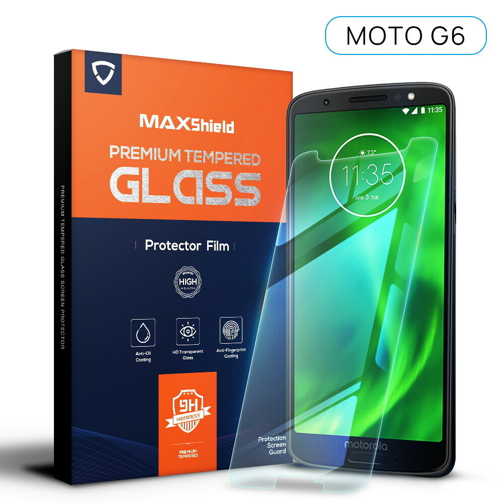 2X Motorola Moto G6 Tempered Glass Screen Protector