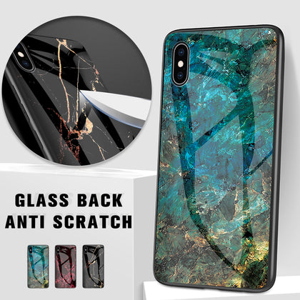 iPhone 7 Case Shockproof Tough Marble Soft Cover for Apple