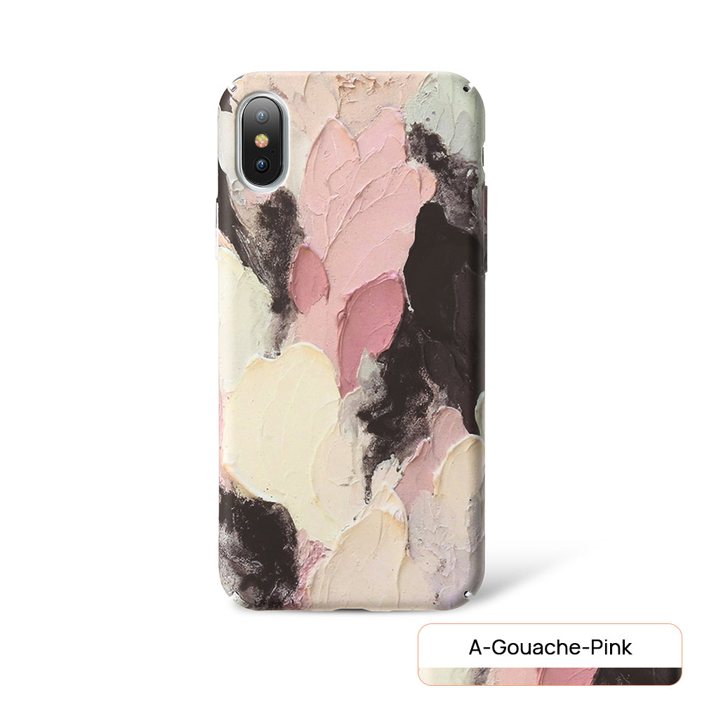 iPhone X Case Pattern Shockproof Thin Soft Silicone Tough Cover