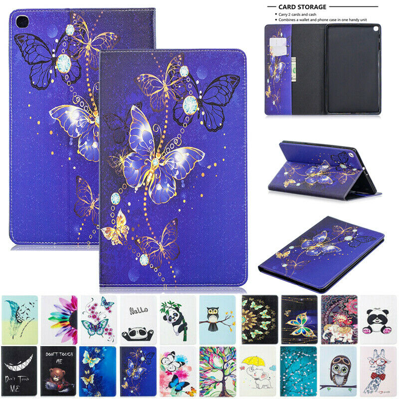 For Samsung Tab A 10.1 SM-T510 T515 2019 Magnetic Leather Stand Flip Case Cover