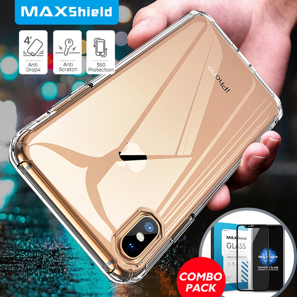 iPhone XS Thin Soft Silicone Case Cover