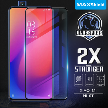 Xiaomi Mi A3 MAXSHIELD Full Cover Tempered Glass Screen Protector