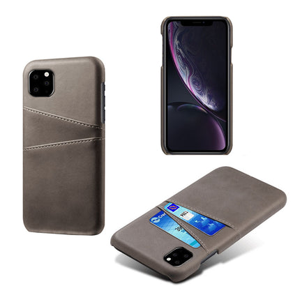 iPhone XI 11 Wallet Case Leather Slim Layered Card Slot Cover