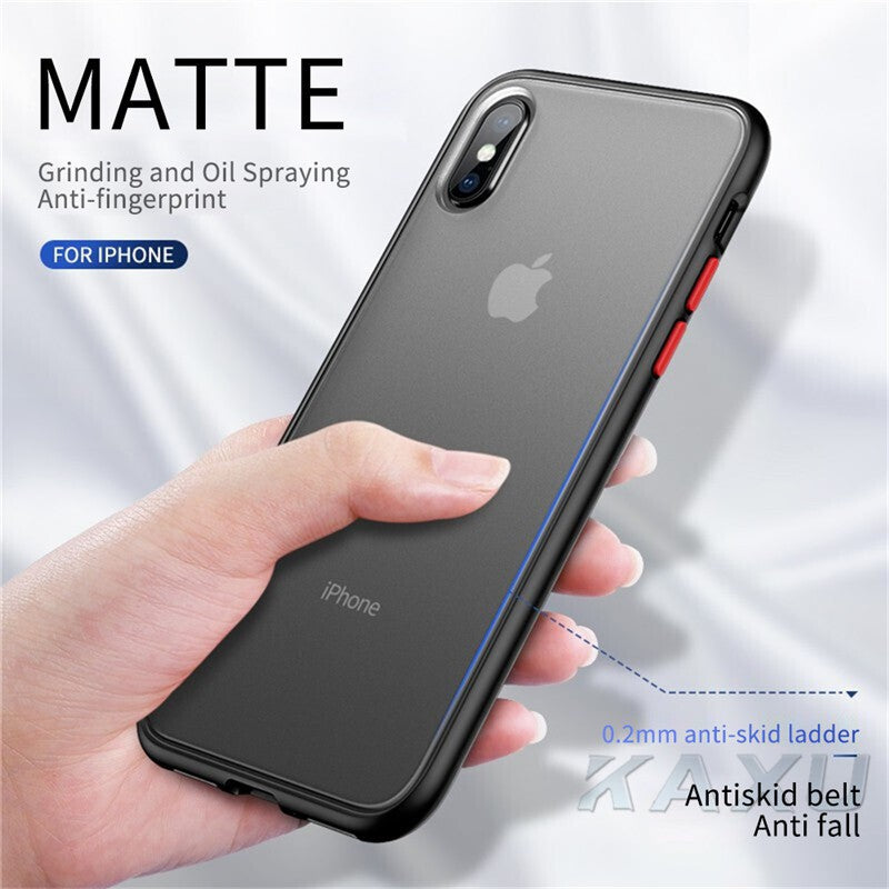 iPhone 11 Pro Max Bumper Case Clear Hard Shockproof Slim Hybrid Cover
