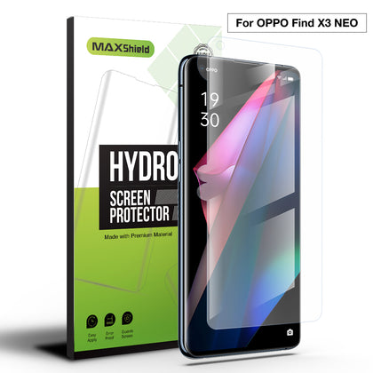 2 Pack MAXSHIELD For OPPO X3 Neo HYDROGEL FLEXIBLE Film Screen Protector