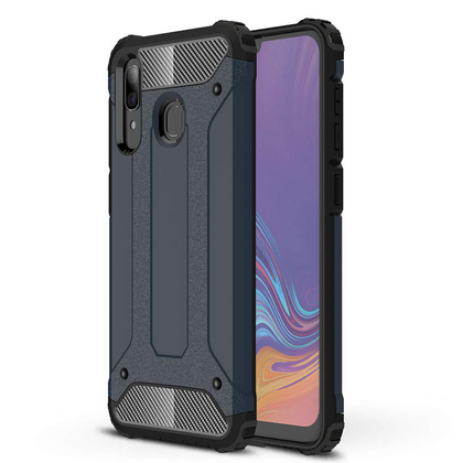 Samsung Galaxy A30 Case, Premium Flexible Soft Anti Slip TPU Case Cover-Gunmetal