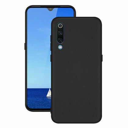 Samsung Galaxy A70 Case Premium Flexible Soft Anti Slip Bumper Cover