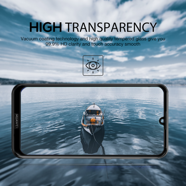 Huawei Y5 Pro 2019 Full Coverag Tempered Glass Screen Protector