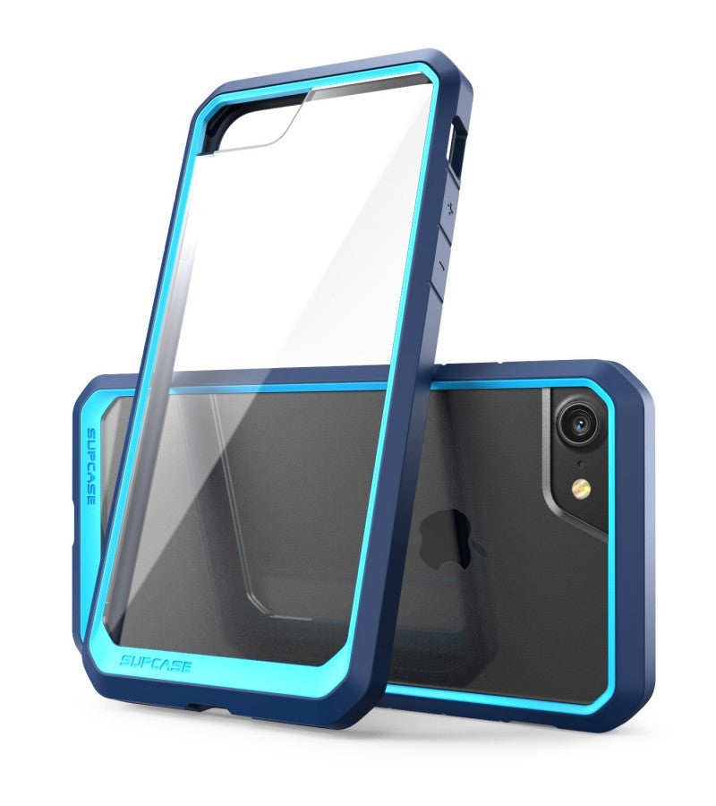SUPCASE Unicorn Beetle Series Premium Hybrid Protective Clear Case for Apple iPhone 7 iPhone 7 Plus (Blue)