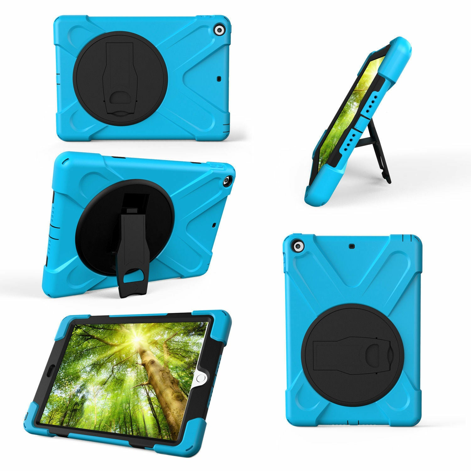Heavy Duty Hybrid Shockproof Case Cover For iPad Mini 4