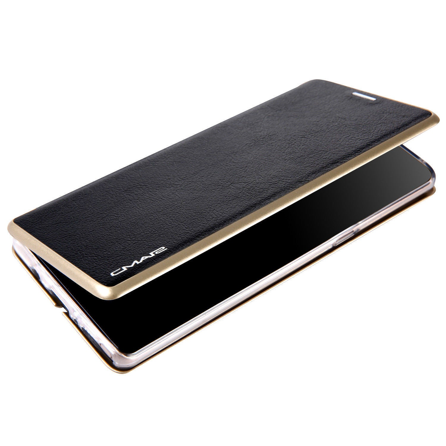 Samsung Galaxy S10 Plus Flip Leather Wallet Card Magnetic Case Cover-Black