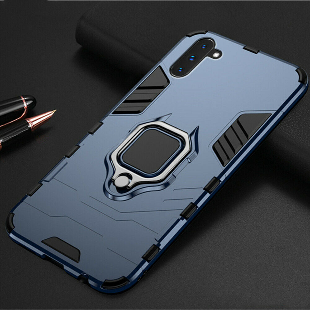 For Samsung Note 10 Plus 5G Case Hybrid Magnetic Armor Ring Holder Heavy Duty Cover
