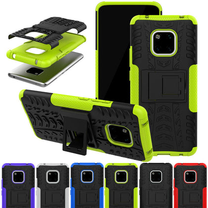Huawei Mate 20 Pro Hybrid Shockproof Rugged Heavy Duty Armor Case Hard Cover