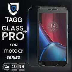GENINE TAGG TEMPERED GLASS SCREEN PROTECTOR FOR MOTO G4 Plus