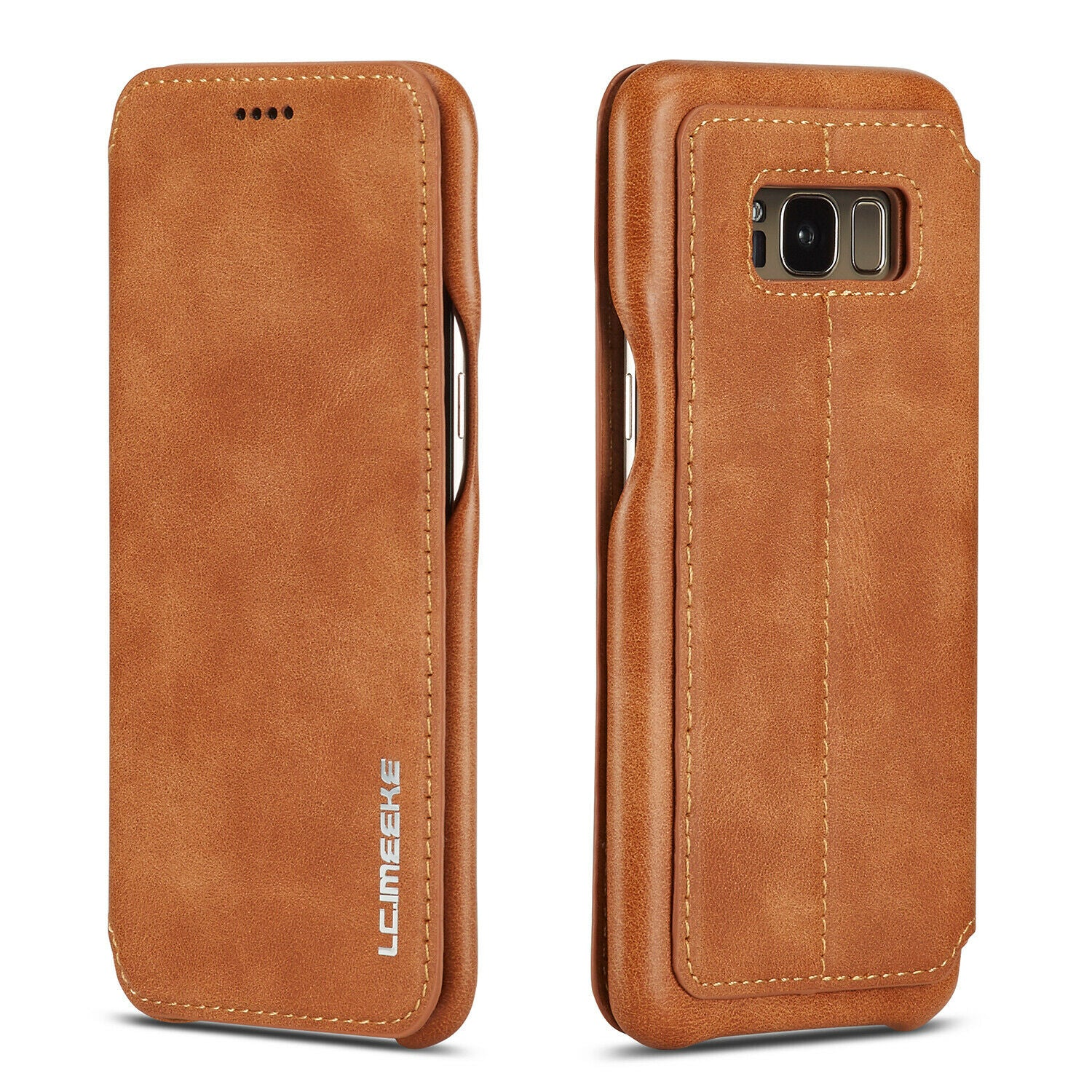 Samsung S10 5G  Case Leather Card Holder Flip Stand Cover