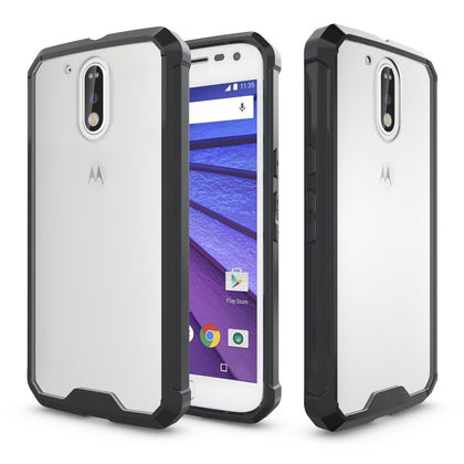 Hybrid Crystal Bumper Case Cover for Motorola Moto G4 Plus 2016
