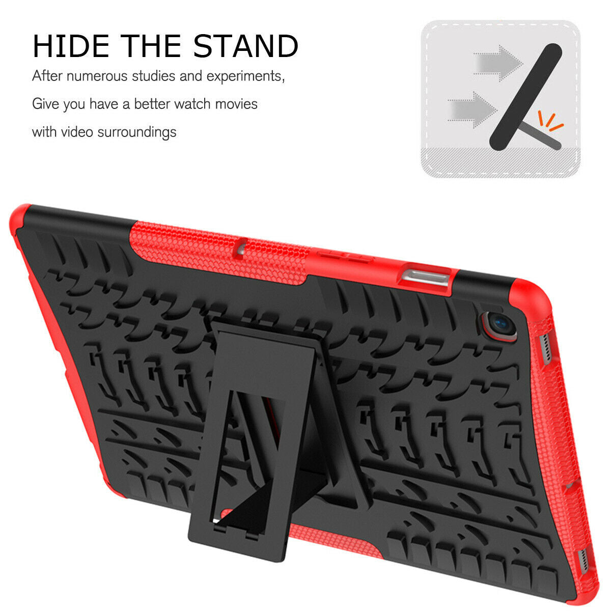 For Samsung Galaxy Tab S5e 10.5 SM-T720 Rugged Shockproof Heavy Duty Hard Case