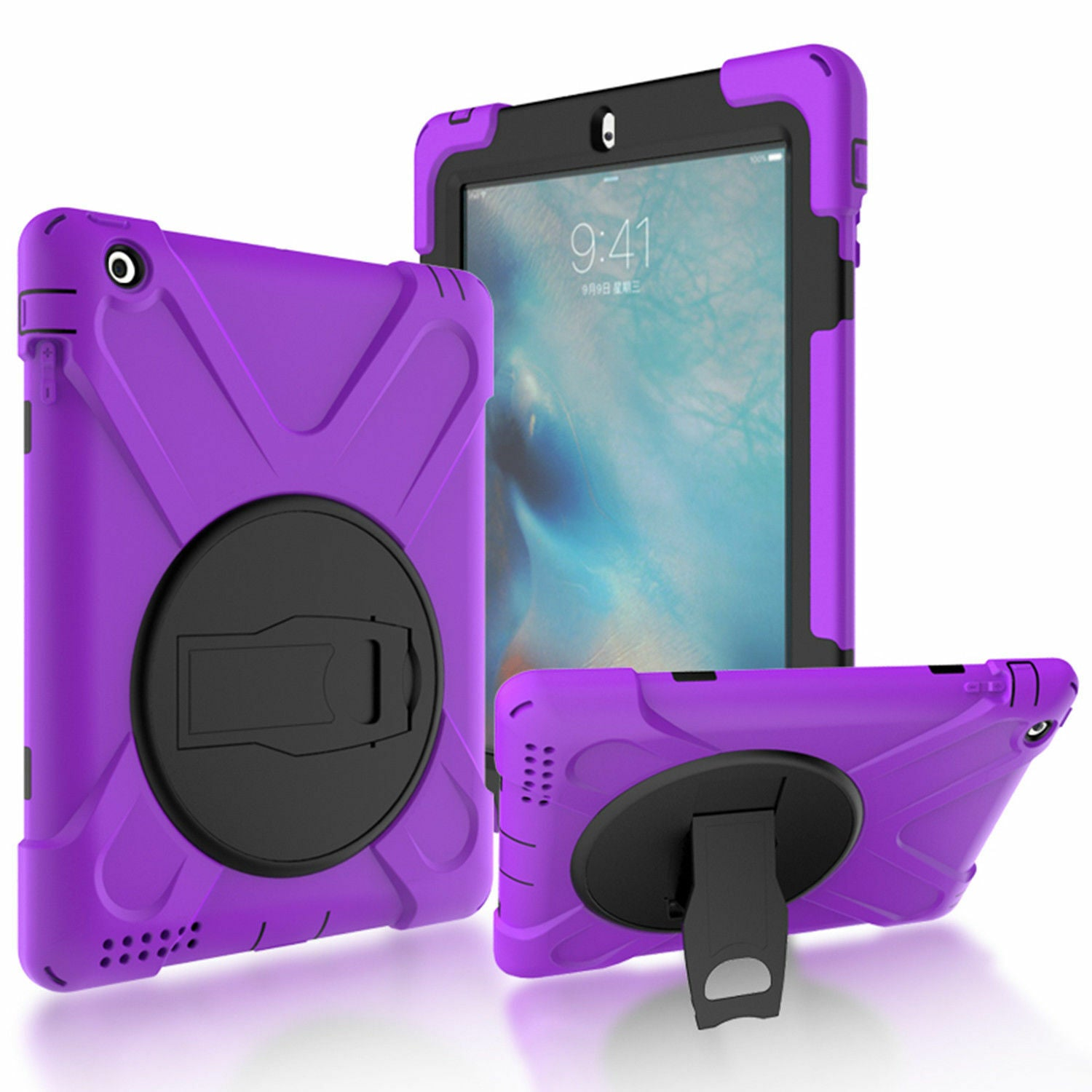 Heavy Duty Hybrid Shockproof Case Cover For iPad Mini 3