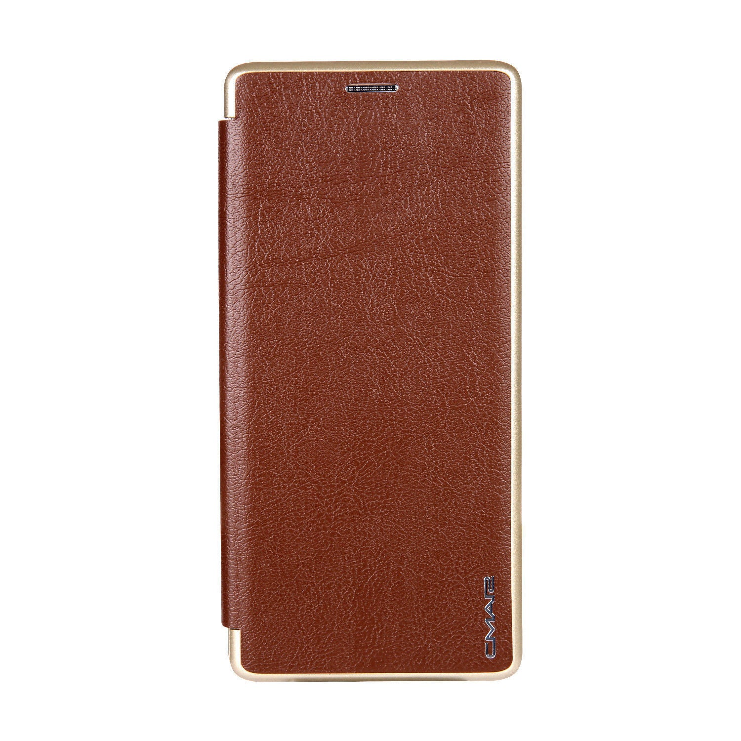 Samsung Galaxy S10 Plus Flip Leather Wallet Card Magnetic Case Cover-Brown