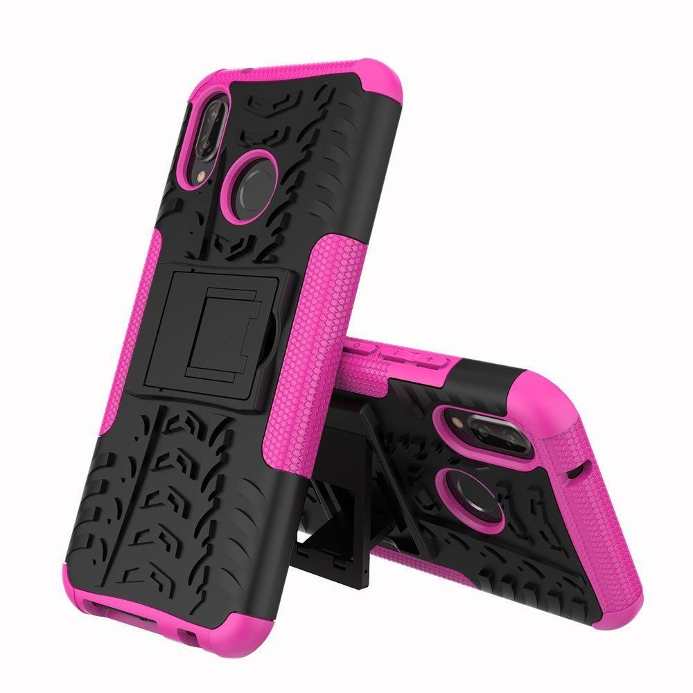 For Huawei Nova 3i Heavy Duty Tough Shockproof Strong Case Cover-Purple