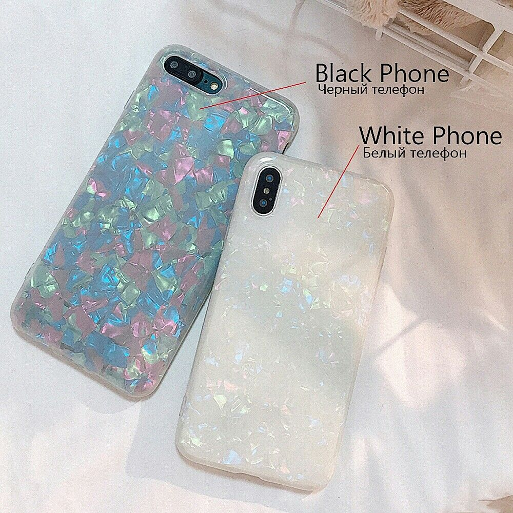 Case For Samsung S10 Cover Marble Silicone Skin TPU Bumper-Rainbow