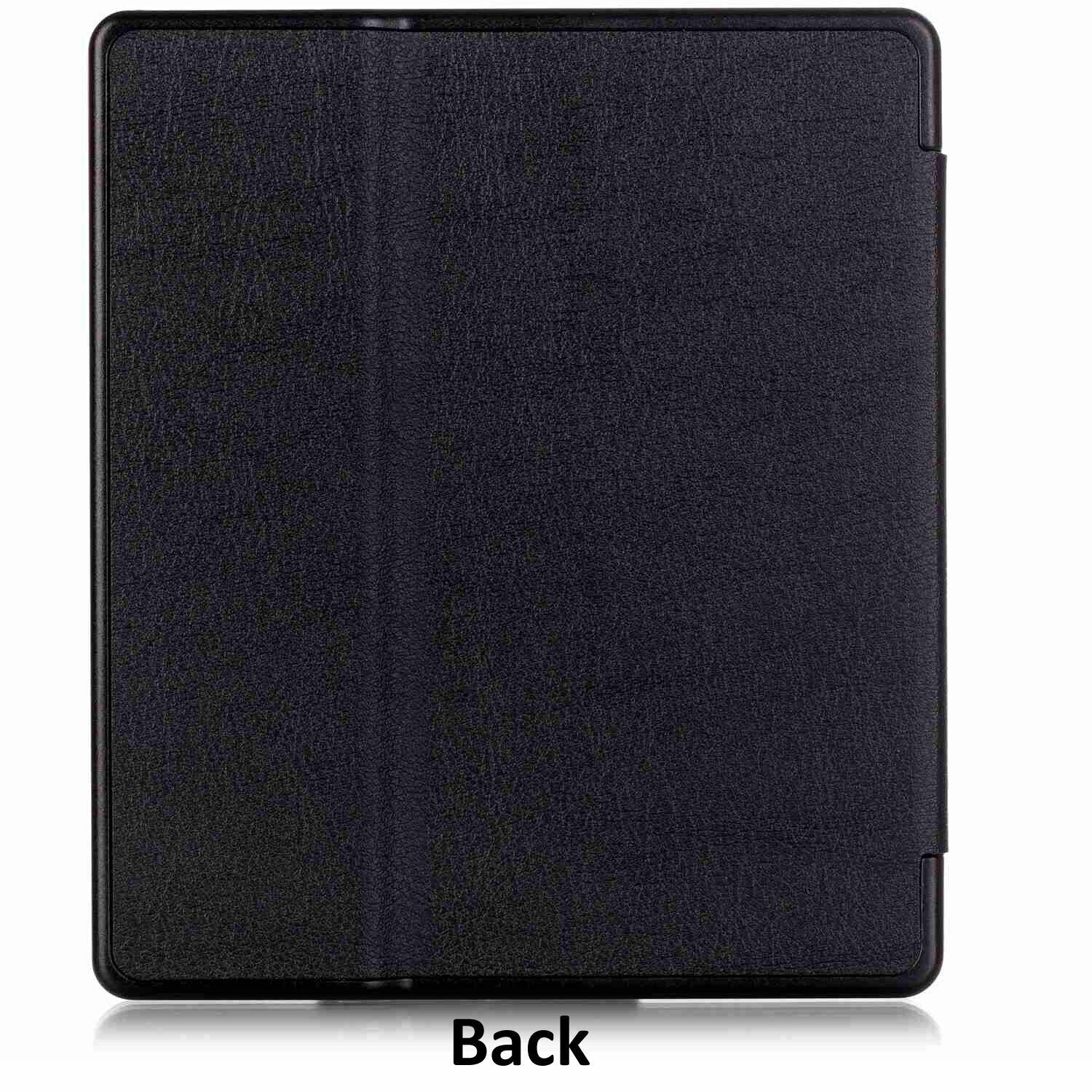For Amazon Kindle Oasis 2019 Case 7'' 10th Gen Magnetic Leather Smart Cover--Dark Blue