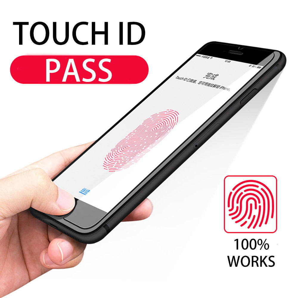 Touch ID Button Home Button Sticker For iPhone 5 5s iPhone 6 7 6s 7s plus