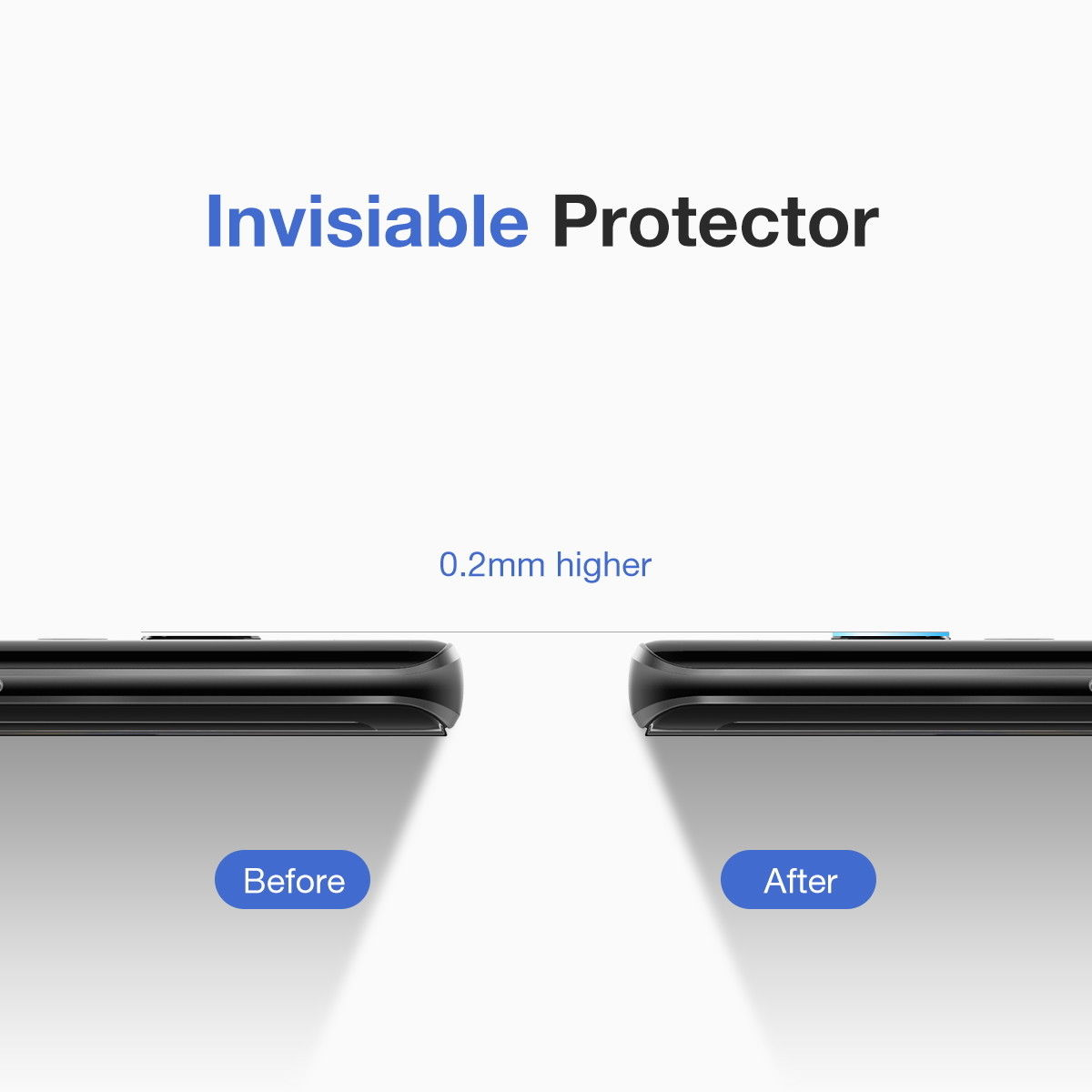 Samsung Galaxy S10 Back Camera Lens Tempered Glass Protector