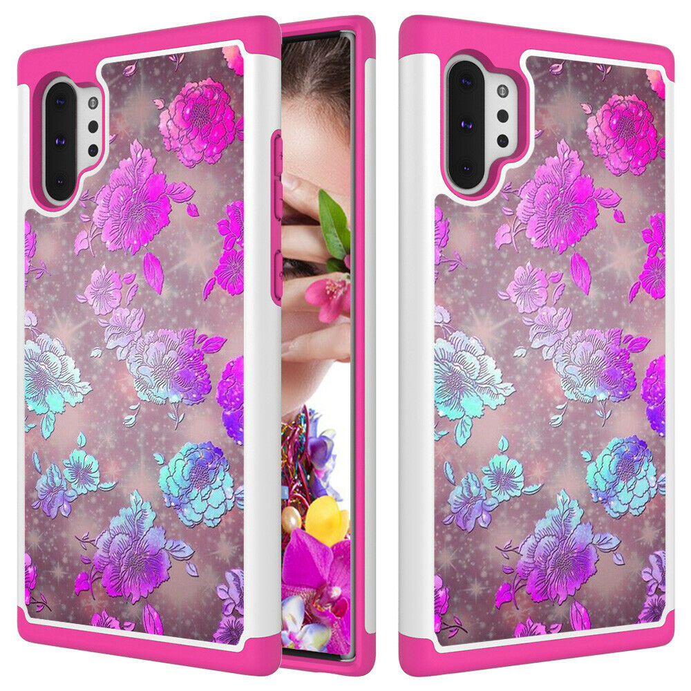 Samsung Galaxy Note 10 Plus 5G Case Shockproof Hybrid Rubber Bumper Cover