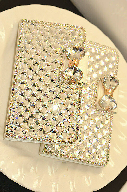 Samsung Note10 Plus 5G Bling Crystal Diamond Leather Flip Stand wallet Case