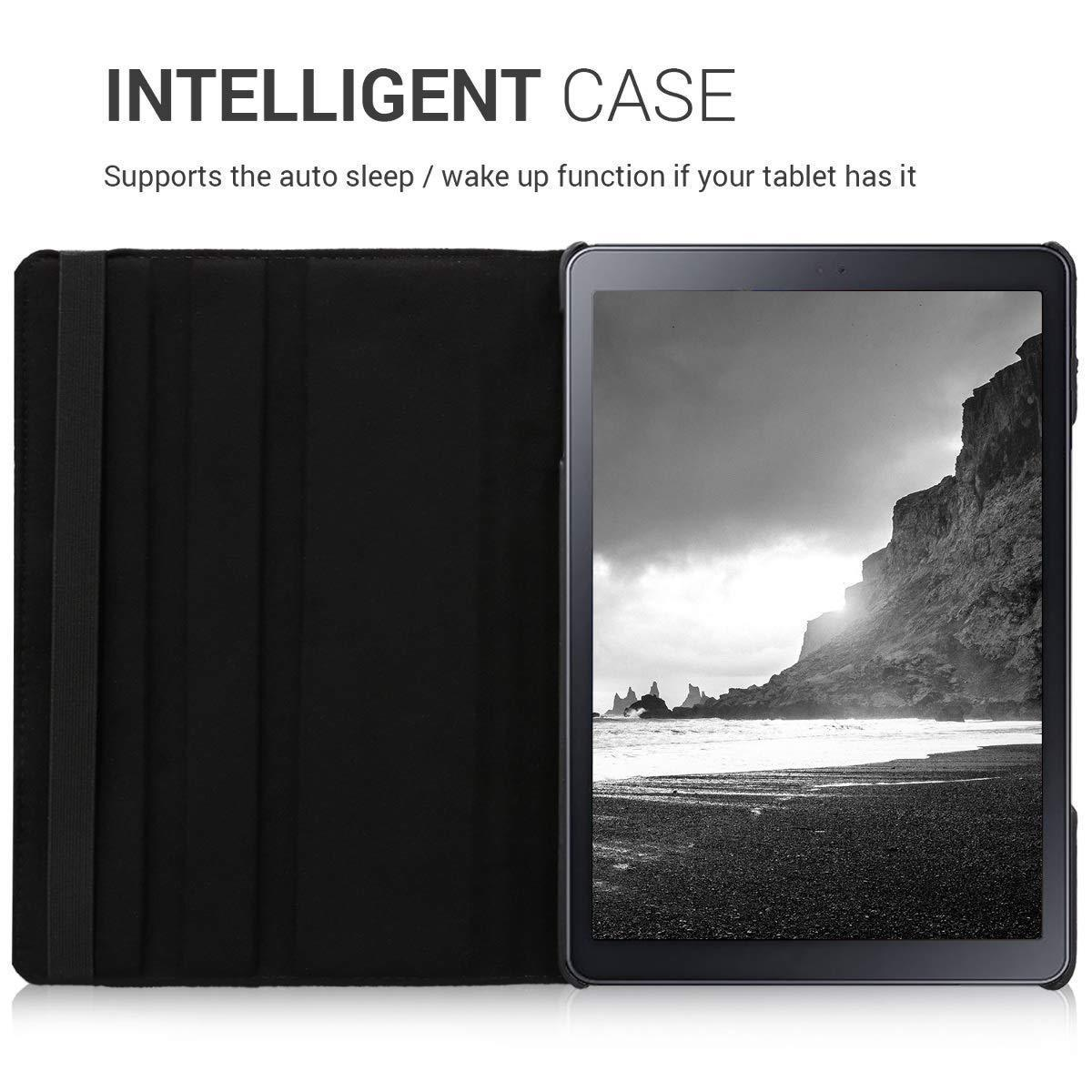 "Samsung Galaxy Tab A 10.1"" 2019 T510 T515 Rotating Flip Smart Stand Case Cover"