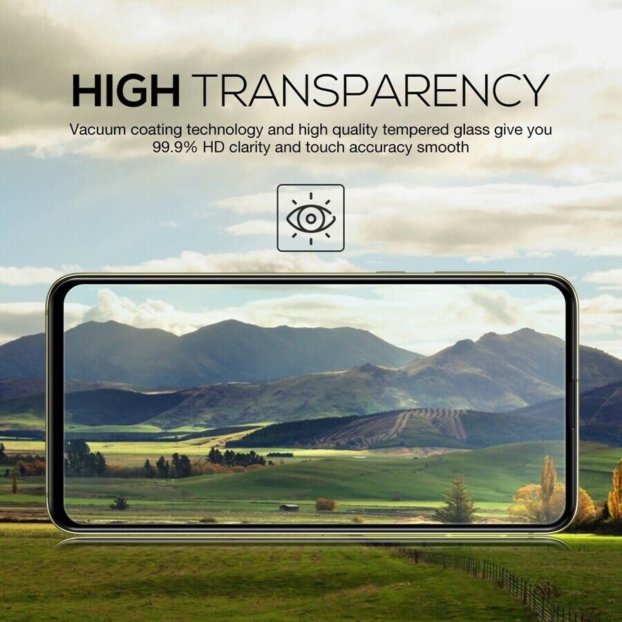 Samsung Galaxy S10E Full Coverage Tempered Glass Screen Protector