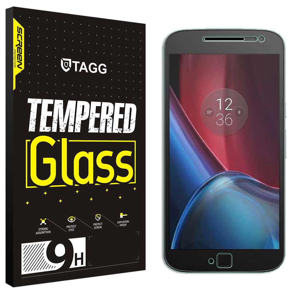 GENINE TAGGSHIELD TEMPERED GLASS SCREEN PROTECTOR FOR MOTO G4 Plus