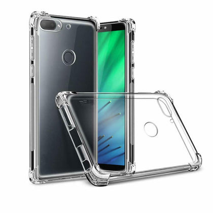 Shockproof Tough Gel Clear Case Cover for Oppo AX5