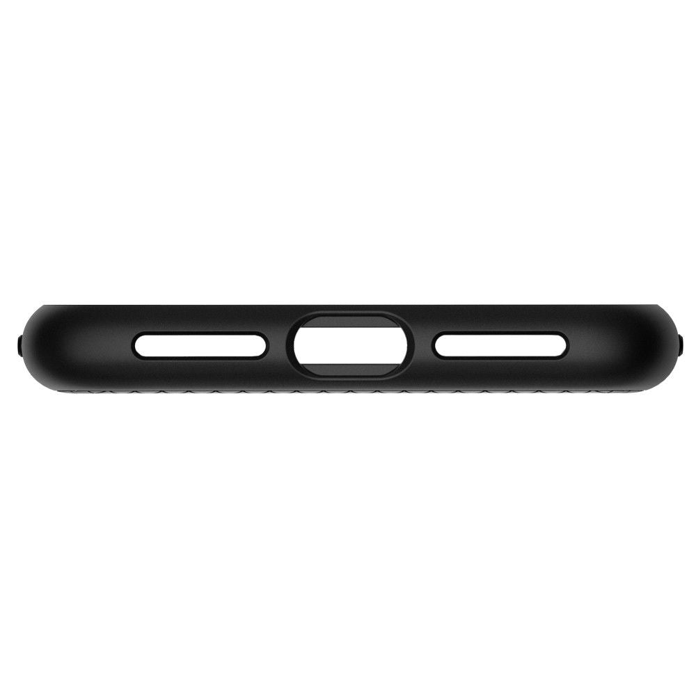iPhone XR Case Genuine SPIGEN Soft Liquid Air Armor Slim Cover Apple-Black